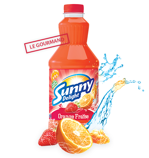 Sunny Delight Orange Fraise