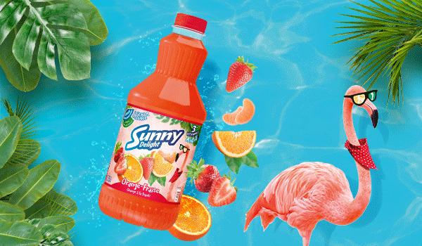 Orange à la fraish !